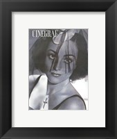 Framed Joan Crawford CINEGRAF Magazine