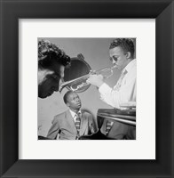 Framed Miles Davis, Howard McGhee, September 1947