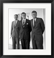 Framed Robert Ted John Kennedy