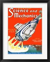 Framed Science and Mechanics Nov 1931 Cover