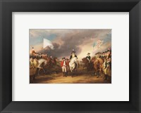 Framed Surrender of Lord Cornwallis at Yorktown October 19 1781