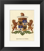 Framed Stately Heraldry IV