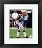 Framed Joe Haden 2011 Action