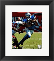Framed Calvin Johnson 2011 Action