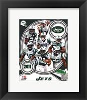 Framed New York Jets 2011 Team Composite