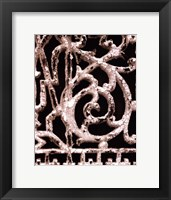 Ornament III Framed Print