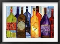Framed Vive La Bourgogne