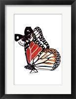 Framed Butterflies Dance IV