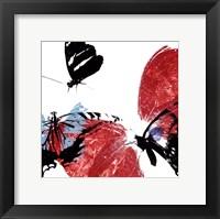 Framed Butterflies Dance VIII