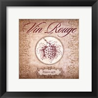Wine Label I Framed Print