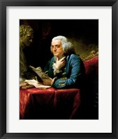 Framed Benjamin Franklin 1767