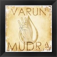 Varun Mudra (Water) Framed Print