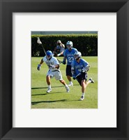 Framed UNC Duke Lacrosse