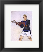 Framed Collier Lacrosse