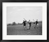 Framed Lacrosse