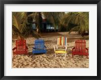 Framed Grab A Chair