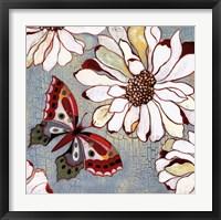 Framed Vintage Butterfly II