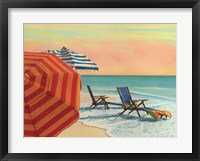 Sit, Stay & Relax Framed Print