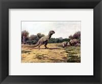 Framed T Rex Posture