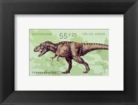 Framed Tyrannosaurus
