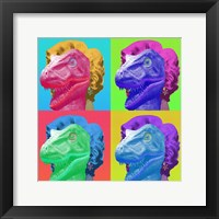 Raptor Marilyn Framed Print