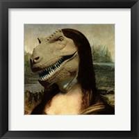 Framed Mona Rex