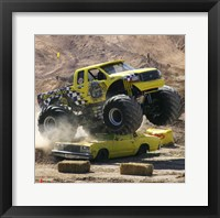 Framed Big Dawg Monster Truck