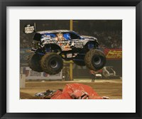 Framed Bounty Hunter Monster Truck