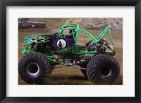 Framed Grave Digger Monster Truck