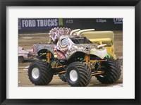 Framed Jurassic Attack Monster Truck
