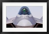 Framed F-22 Raptor