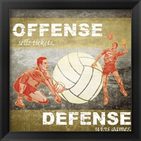 Framed Offense, Defense