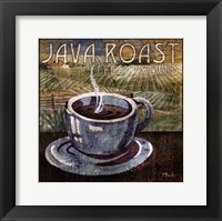 Java Roast Framed Print