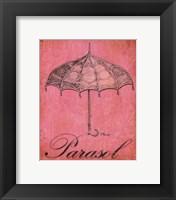 Framed Parisian Market IV-mini