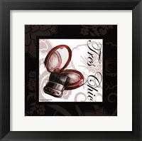 Makeup Bag II Framed Print