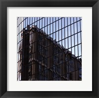 Square Reflections II Framed Print