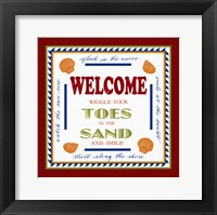 Framed Beach Sand