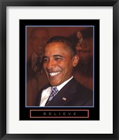Framed Obama - Believe