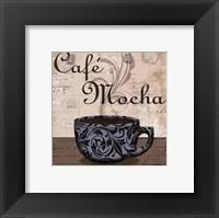 Cafe Mocha - petite Framed Print