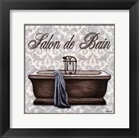 Framed Salon de Bain Square