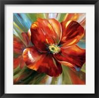 Framed Island Blossom I