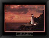 Framed Success - Lighthouse