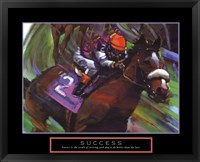 Framed Success - Horse