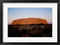 Framed Ayers Rock Uluru-Kata Tjuta National Park Australia