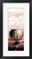 Framed Southwest Pottery Panel