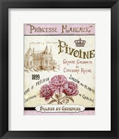 Framed French Seed Packet III