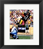 Framed Hines Ward 2011 Action
