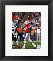 Framed Tom Brady 2011 Action