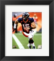 Framed Tim Tebow 2011 Fotball Action