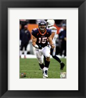 Framed Tim Tebow 2011 in Action